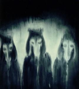 Schwarze Schafe in schwarzen Roben