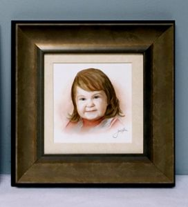 Brine,Jaclyn-Young Girl in Red