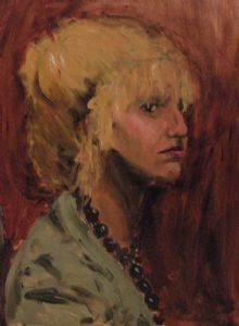 Portrait of a Blonde