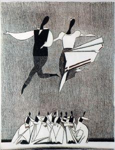 Dance. Russian ballet.