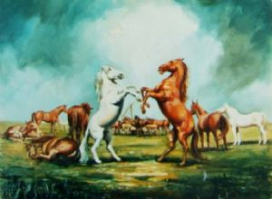 Horses Dance