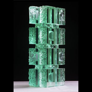 8 green blocks