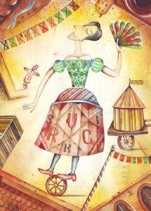 Actress in circus