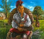 Shinnecock Indian Man - Ca. 18th century #2