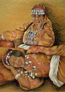 Two Tribal Women