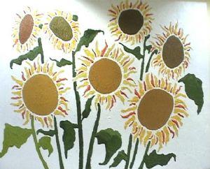 7 sunflowers