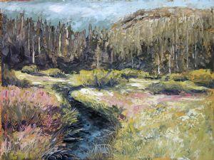 Sierra morning meadow