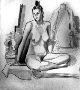 The naked Natasha.