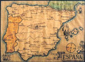 Map of Espana
