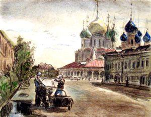 Aminov,Faizulla-Transport officers. Summer.One early morning.