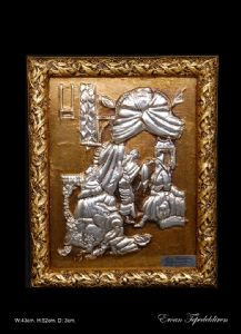 IN OTTOMAN RESTING TIME(ALUMINUM RELIEF)