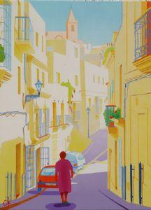 Vejer Town in Spain