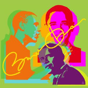 Obama - Custom pop art