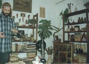 Radulescu,Catalin-* a -Me and my studio