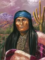 Naiche - Chiricahua Apache Chief - Son of Cochise, 1856-1921