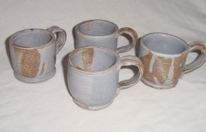 Porcelain Mugs, 4 out of 9 total, 2007
