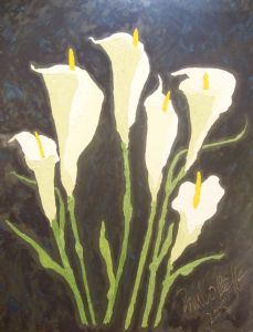6 lilies