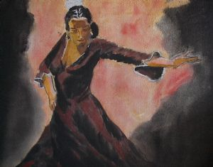 Dancer-After Fabian Perez