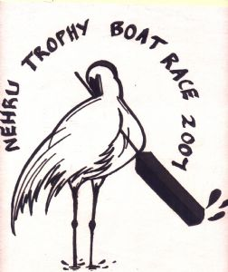 Nehru Trophy Boat Race Logo