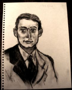 T.S. Eliot sketch