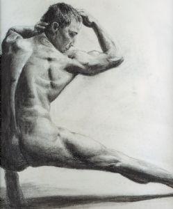 Charcoal Nude 1