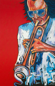 gray,gray-Miles Davis: Miles In red