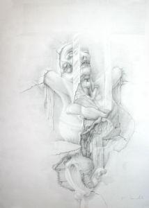 stillness, self potrait
