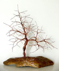 wire tree sculpture 0853