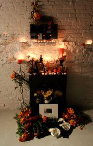 Altar For Zapotec Ancestors