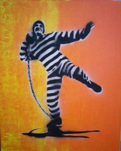 Hogben,Gary-Prisoner Shotput