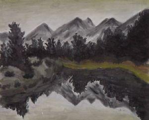 Mountain Mock Painting, 2003