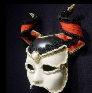 Minotaur Mask -Designer mask made by Claudia Hapeman of www.socaldesignco.com.
