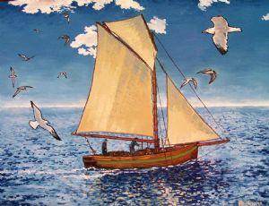 English Fishing Boat
