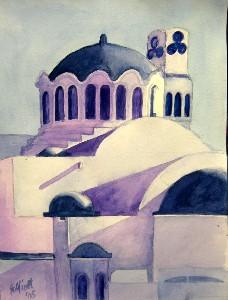 A Greek Building