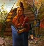 Shinnecock Indian Man - Ca. 18th century #1