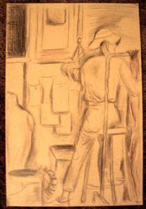 Holloway,Sarah-10min Drawing #3