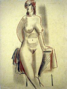 Aminov,Faizulla-Lera. Naked woman.