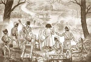 Napoleon 1er a Surville