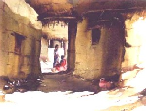 SONAR BANGALA VILLAGE SCENE