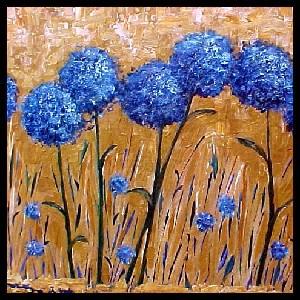 <b>Wild Blueberry Thistles