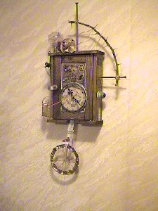 A-Wisecounter Clock 0
