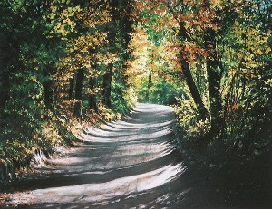 Road to Olsztyn