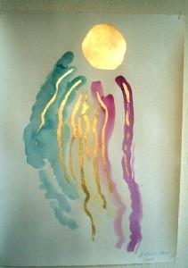 Sun storm (Sonnenwind)