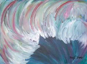 a tsunami wave