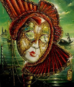 VENICE THRU THE MASKS' EYES