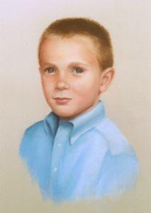 higgins,teresa-pastel portrait