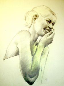 Chuckling Girl
