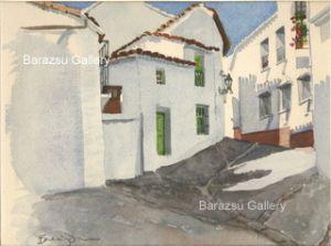 Barazsu,Dave-Houses On Street Ronda Spain
