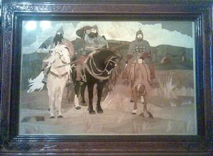 MARQUETRY,ALEKSEY-THREE HEROES