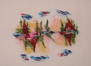Langdonart,Artiste-Pink Serenade 3 by Langdonart